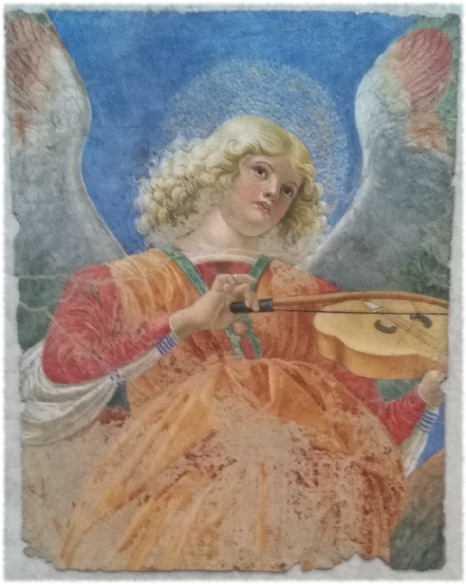 Angel with a viol